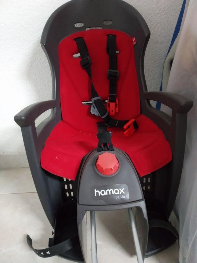 silla porta bebé bicicleta Hamax siesta