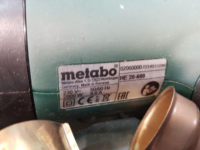 PISTOLA DE AIRE CALIENTE METABO HE 20-600