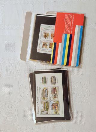 SELECTION SERVICES POSAUX EUROPÉENS Stamps Sellos