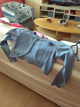 chaqueta corta para vestido niña