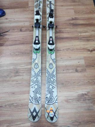 ski travesia 163cm + fijacion travesia + pieles