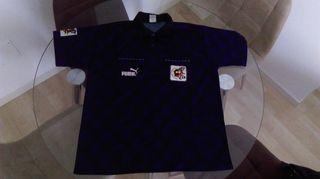 Camiseta árbitro Puma Federación Española Fútbol