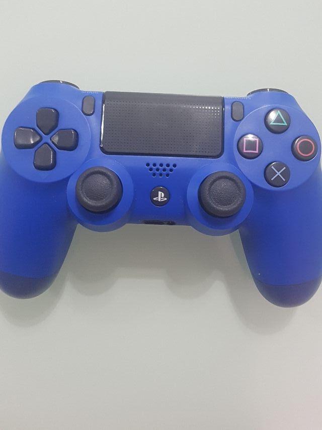 Mando Ps4 Azul Original