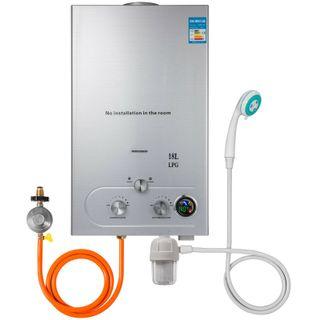 18L Calentador de Agua a Gas 4.8GPM 36KW Propano