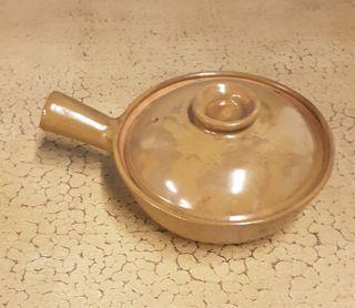 Lote 8 cazuelas de cerámica esmaltada
