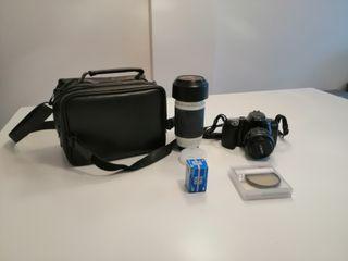 Cámara de fotos reflex Minolta Dynax 500si