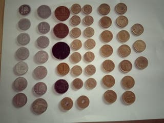 colección de monedas antiguas