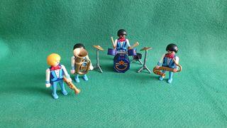 Playmobil Banda Música 3723 COMPLETA Vintage