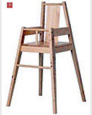 Trona madera Ikea
