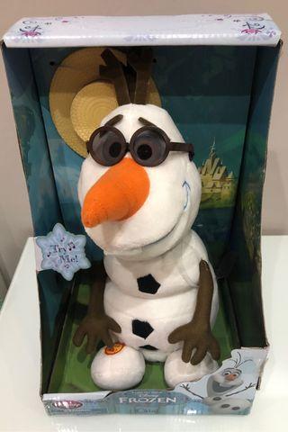 Peluche Olaf cantarín animado Frozen Disney Store