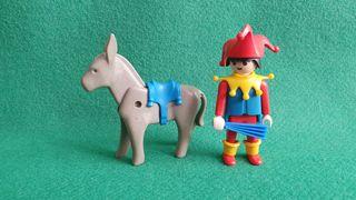 Playmobil Bufon 3330 Arlequín Juglar Medieval