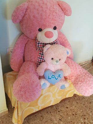 oso de tamaño 1 metro de alto