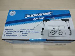 Polea para colgar bicicleta