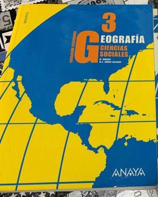 Libro de Geografía y Ciencias Sociales (3 ESO)
