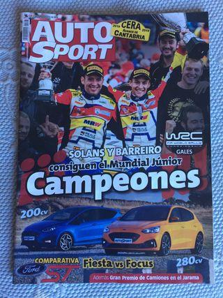 Revista de coches auto-sport