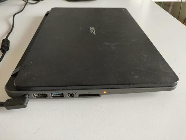 Portátil Acer notebook