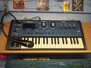 Novation Mininova Vocoder Keyboard Synth like new