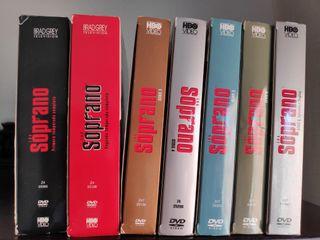 Serie completa Los Soprano DVD
