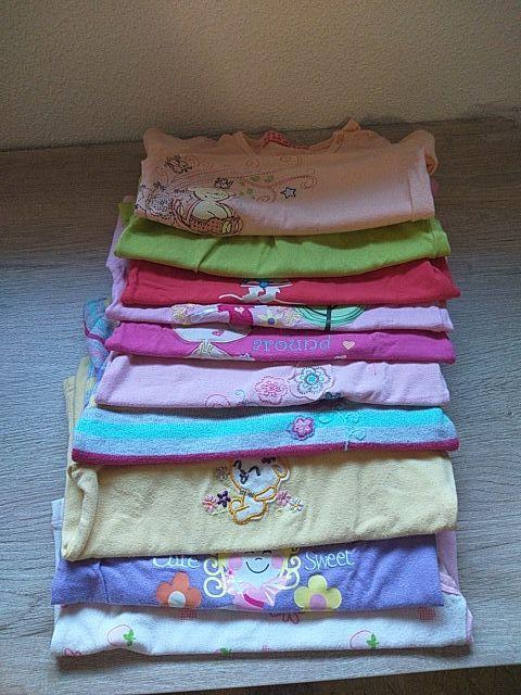 LOTE DE 10 camisetas niña y 1 DE REGALO 11
