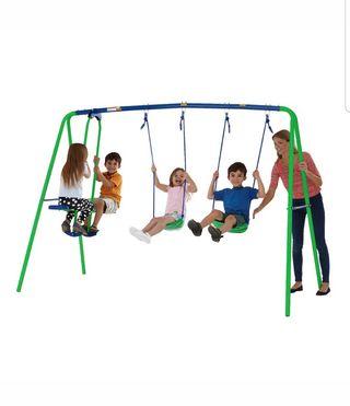Children's Garden Sportspower Double Swing