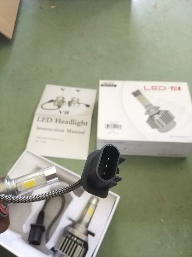 Pareja LED H13 100% NUEVA