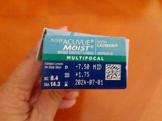 Lentillas Acuvue Multifocales