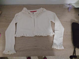 torera ropa niña blanca 5-6 años