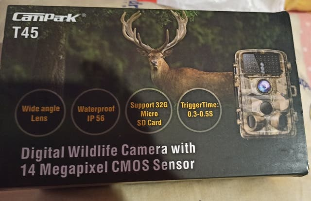 camara de caza campark t45