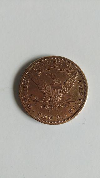 Moneda 10 dólares USA 1902