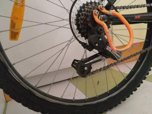 "Bicicleta niño MTB 24""."
