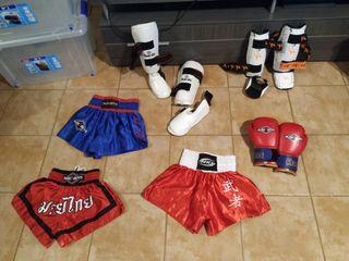 Kick boxing Rude Boys niño