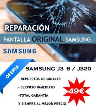 Cambio y sustitución de pantalla táctil Samsung.