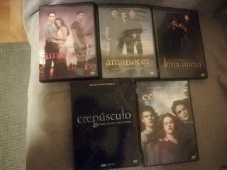 Películas DVD saga crepúsculo