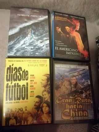 Pack de películas DVD