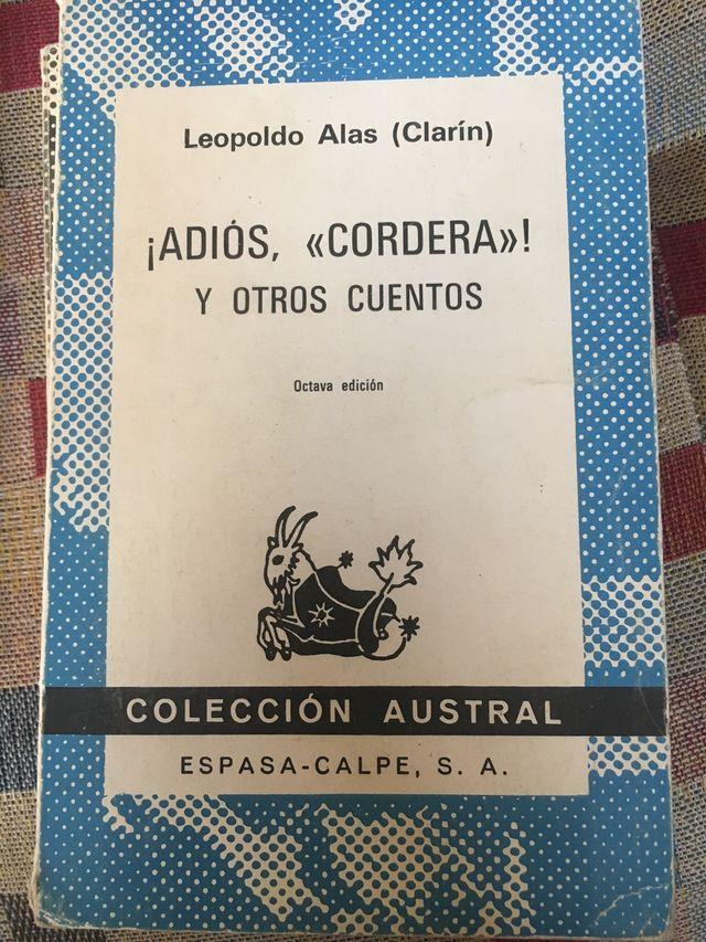 Adiós Cordera y otros cuentos. Clarín
