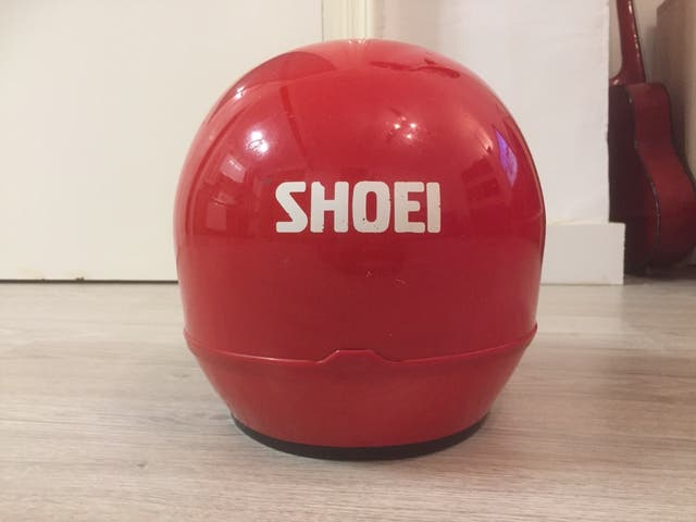 Casco vintage Shoei