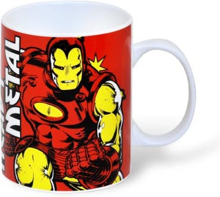 Taza MARVEL, IRON MAN.