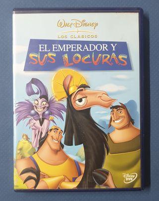 DVD - El emperador y sus locuras.