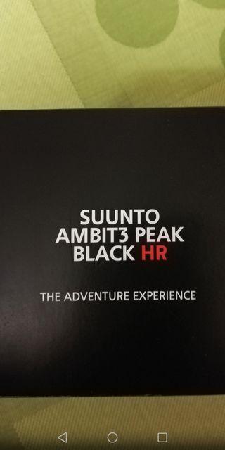 RELOJ SUUNTO AMBIT 3 PEAK BLACK HR
