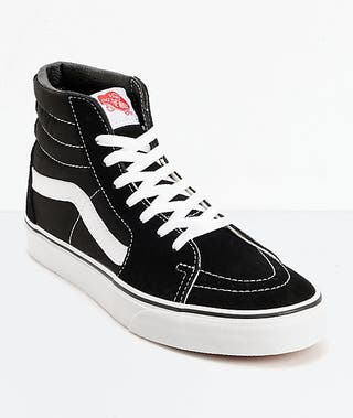 Zapatillas Vans Sk8 Hi Nuevas negras número 45. de segunda