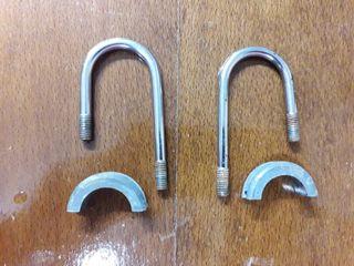 soporte suspensión y amarres de manillar montesa