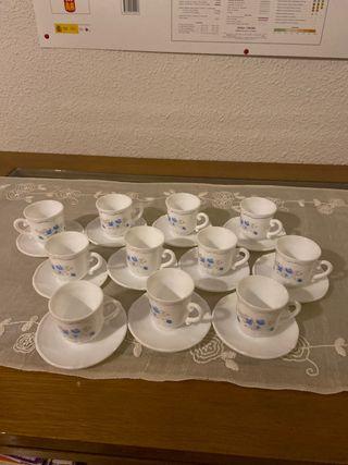 Arcopal 11 tacitas de café !!!
