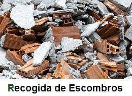 SE RECOGE ESCOMBROS EN TODO MADRID