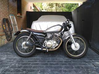 Yamaha sr 250. Cafe racer. Brat Style