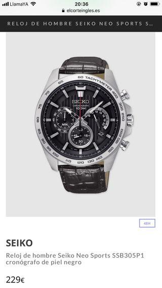 Reloj Seiko hombre -150€