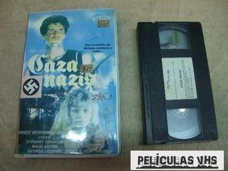 Película Caza Nazis en VHS