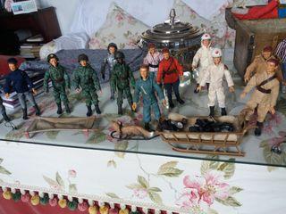Geyperman muñecos auténticos para niños