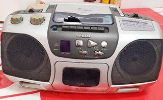 Radio cassette y cd Aiwa
