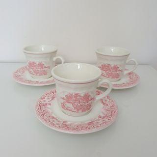 Juego 3 tazas de té . Oferta