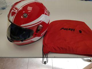 """casco moto suomy """"ducati"""""""